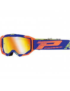 PRO GRIP BRILLE VISTA MX AMERIKA LICHTEMPFINDLICH 3303 BLAU/FLUO ORANGE
