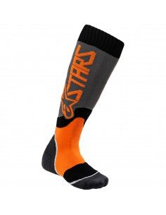 ALPINESTARS SOCKE JUGEND MX PLUS2 GRAU/ORANGE