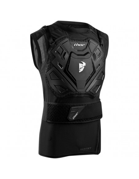 THOR MX SENTRY OFF ROAD GUARD WESTE SCHWARZ