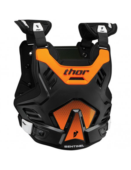 THOR MX SENTINEL GP S16 BRUSTPANZER SCHWARZ/FLO ORANGE
