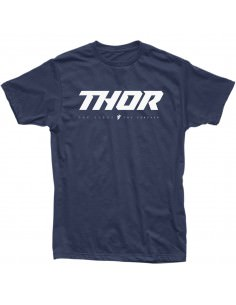 THOR MX T-SHIRT LOUD 2 BLAU
