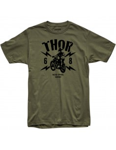 THOR MX T-SHIRT LIGHTNING GRÜN