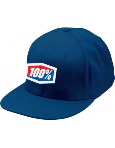 100% ESSENTIAL J FIT KAPPE BLAU