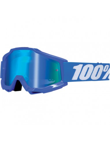 100% ACCURI REFLEX BLUE OFFROAD BRILLE BLAU VERSPIEGELT