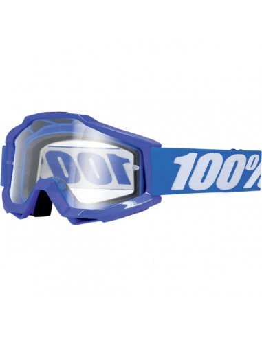 100% ACCURI REFLEX BLUE OFFROAD BRILLE KLAR