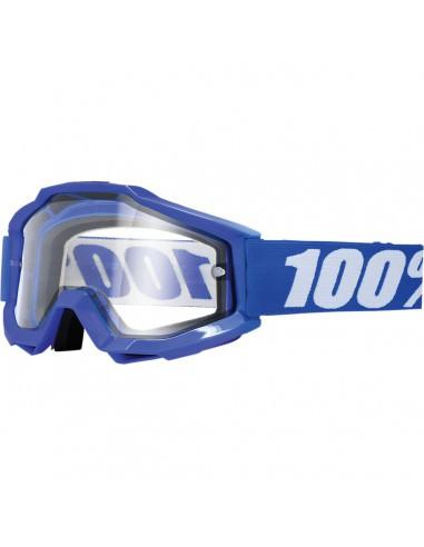 100% ACCURI REFLEX BLAU ENDURO BRILLE KLAR