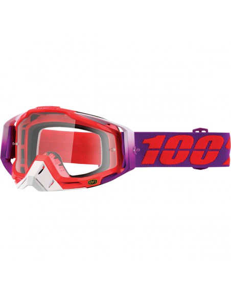 100% RACECRAFT WATERMELON OFFROAD BRILLE KLAR