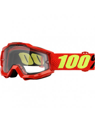 100% ACCURI SAARINEN ENDURO BRILLE KLAR