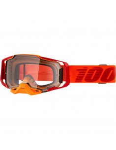 100% BRILLE ARMEGA Orange/Klar