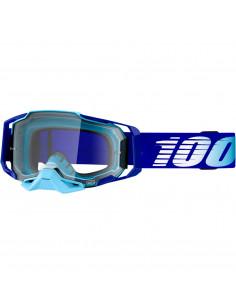 100% BRILLE ARMEGA Blau/klar