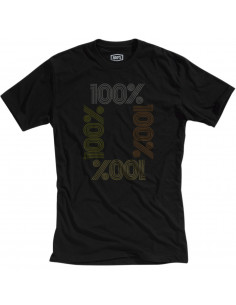 100% T-SHIRT ENCRYPTED SCHWARZ S20