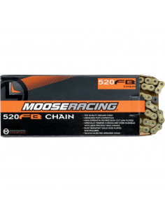 MOOSE RACING CHAIN 520-RXP / 116 LINKS / PRO-MX / GOLD