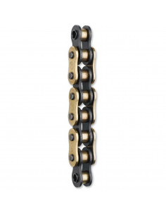 MOOSE RACING CHAIN 428-RXP CLIP CONNECTING LINK / GOLD