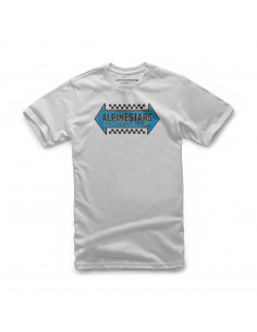 ALPINESTARS OPPOSITE T-SHIRT SILBER