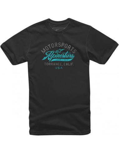 ALPINESTARS T-SHIRT MOTOR SCHWARZ