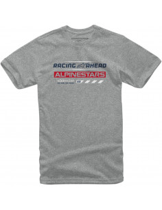 ALPINESTARS T-SHIRT WORLD TOUR GRAU