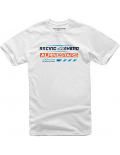 ALPINESTARS T-SHIRT WORLD TOUR WEIß