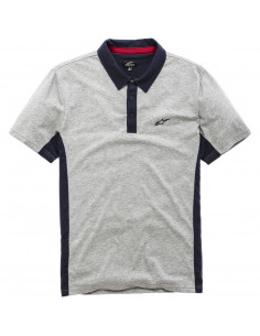 ALPINESTARS POLO SHIRT CHAMPION GRAU/BLAU