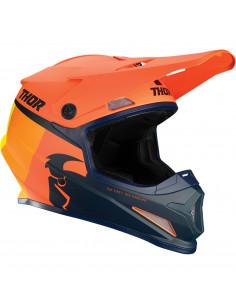 THOR MX HELM SECTOR RACER ORANGE/SCHWARZ