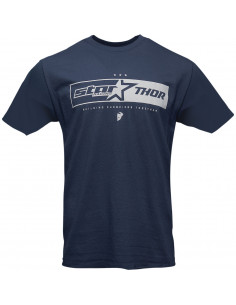 THOR MX T-SHIRT STAR RACING UNI BLAU