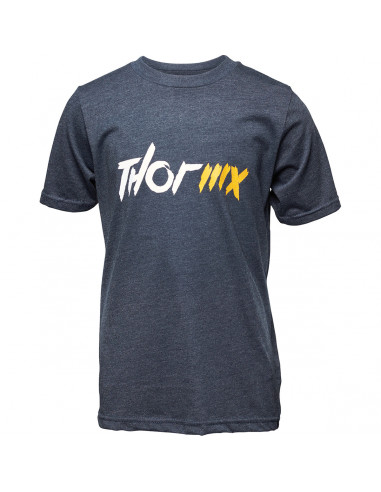 THOR MX T-SHIRT JUGEND MX BLAU