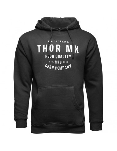 THOR MX PULLOVER CRAFTED SCHWARZ