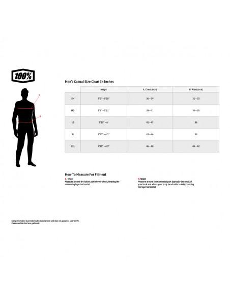100% T-SHIRT ESSENTIAL BRICK ROT Bild 3