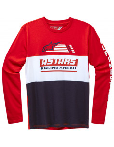ALPINESTARS T-SHIRT LANGARM RIVALRY ROT