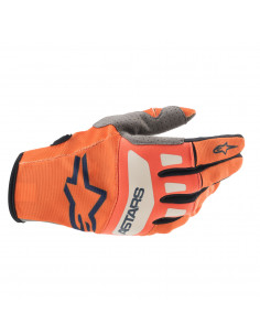 ALPINESTARS HANDSCHUH T-STAR ORANGE/BLAU/WEIß