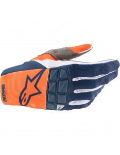 ALPINESTARS HANDSCHUH RACEFEND ORANGE/BLAU
