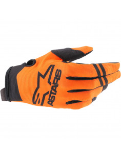 ALPINESTARS HANDSCHUH RADAR ORANGE/SCHWARZ