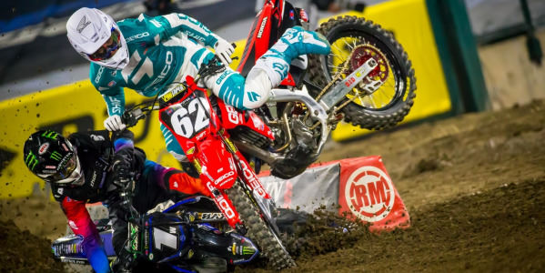 2020 Anaheim 2 Supercross - 250 & 450 Main Event Highlights