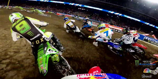 GoPro: Cianciarulo + Roczen 450 Heat Race Battle - 2020 Monster Energy Supercross From Anaheim 2