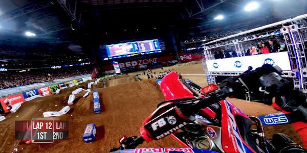 GoPro Roczen 450 Tripple Crown - 2020 Monster Energy Supercross From Glendale