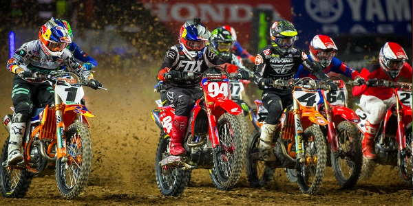 2020 Glendale Supercross - 250 & 450 Main Event Highlights
