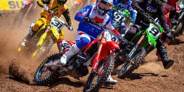 2020 Salt Lake City Supercross Rd 11 - 250 & 450 Main Event Highlights