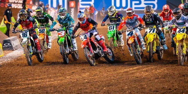 2020 Salt Lake City Supercross Rd 12 - 250 & 450 Main Event Highlights