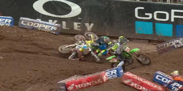 2020 Salt Lake City Supercross Rd 13 - 250 & 450 Main Event Highlights