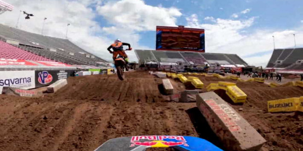 GoPro Ken Roczen 450 Heat 1 - 2020 Monster Energy Supercross From Salt Lake City Rd 13