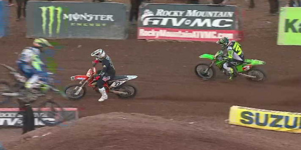 2020 Salt Lake City Supercross Rd 14 - 250 & 450 Main Event Highlights