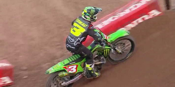 2020 Salt Lake City Supercross Rd 15 - 250 & 450 Main Event Highlights