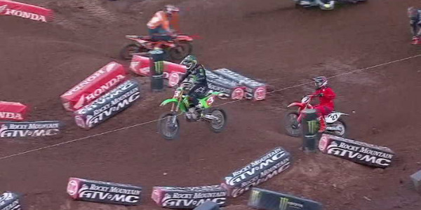 2020 Salt Lake City Supercross Rd 16 - 250 & 450 Main Event Highlights